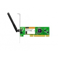 Wireless LAN Adapter Tenda W311P 802.11N, 1Tx1R,Fixed Antenna,Ad-Hoc and Infrastructure, PCI